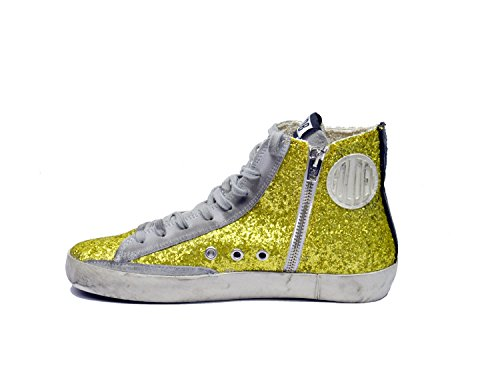 Golden Goose Donna Francy G29WS591.A40 LIME GLITTER Multicolore