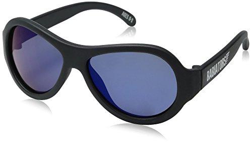 Preisvergleich Produktbild Babiators Baby/Kleinkind Sonnenbrille Aviator, UV-Schutz, polarisiert, 0-3 Jahre, BPA frei, Black Ops