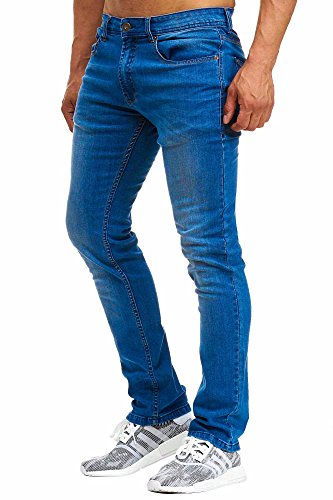 BELLIS® Herren Jeans Original Straight Fit / BS-20311 Blue