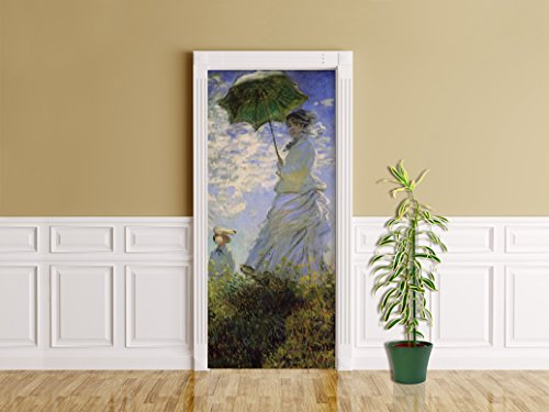 Bilderdepot24 Foglio adesivo per porte Claude Monet - Old Masters