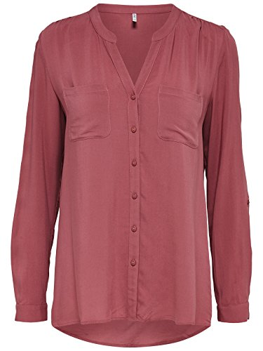 ONLY Damen Bluse Rosa (Withered Rose)