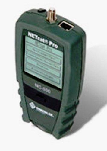 Greenlee NC-500Pro Multimeter für strukturierte Verkabelungen (9-volt-batterie-lagerung)