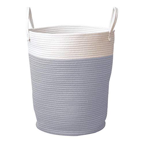 Cesto tejido Cuerda Canastas almacenamiento Canasta
