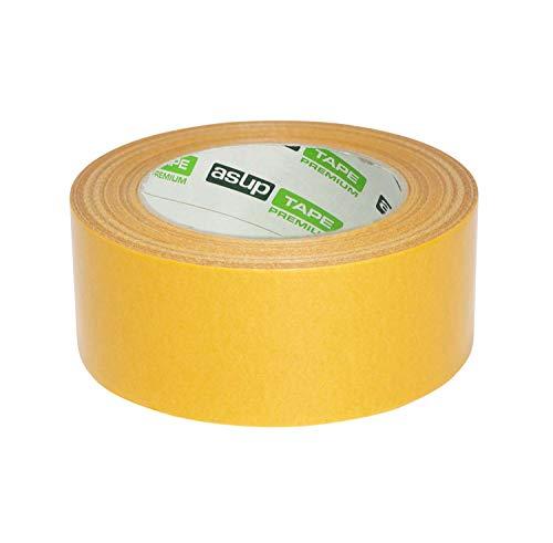 ASUP TAPE | gelbes Panzerband Duct Tape | Gewebeklebeband | 48 mm x 50 m gelb