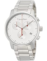 Calvin Klein Reloj Cronógrafo para Hombre de Cuarzo con Correa en Acero  Inoxidable K2G271Z6 96bb7d75ebfb
