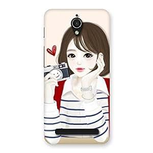 Neo World Sweet Girl Camera Back Case Cover for Asus Zenfone Go