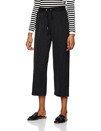 find-wide-leg-pantalon-femme-noir-black-20-taille-fabricant-3x-large