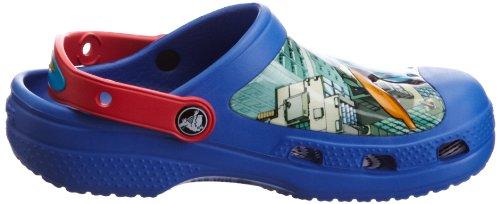 Crocs, Superman Clog C Kids, Zoccoli e sabot, Unisex - bambino Blu (Sea Blue/Red)