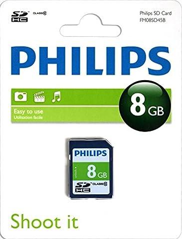 Philips SD-Karte Class 10 8 GB, SDHC