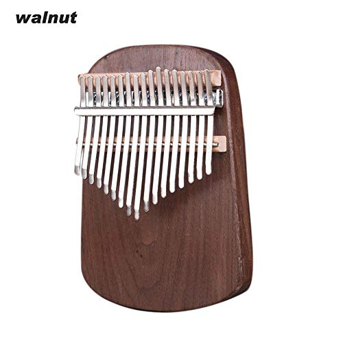 Beneu 17 Key Kalimba Daumen Klavier, Mini Portable Furnier Finger Klavier Für Erwachsene Anfänger Kinder