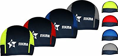 Sikma Men's Cycling Skull Cap Under Helmet Thermal Cycle Windstopper Bike Hat by Sikma Sports