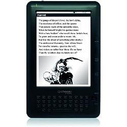 "BestBuy Cyberbook E-Touch 6"" Pantalla táctil 4GB Negro lectore de e-book - E-Reader (15,2 cm (6""), E Ink, 800 x 600 Pixeles, 4:3, ePub,FB2,HTML,PDF,RTF,TXT, MP3)"