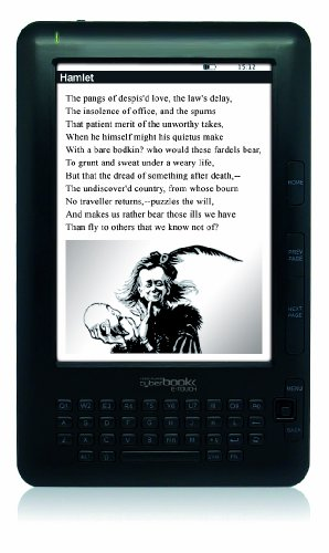 "'Bestbuy CyberBook-Touch 6 ""Touchscreen 4 GB Black Book Reader – eBook Readers (15.2 cm (6), und Ink, 800 x 600 Pixel, 4: 3, ePub, FB2, HTML, PDF, RTF, TXT, MP3)"