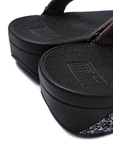 FitFlop™ Glitterball Womens Fuß Post Sandalen Grau