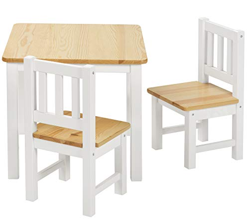 Ikea Laett Kindertisch Mit 2 Stuehlen Weiss Kiefer Test