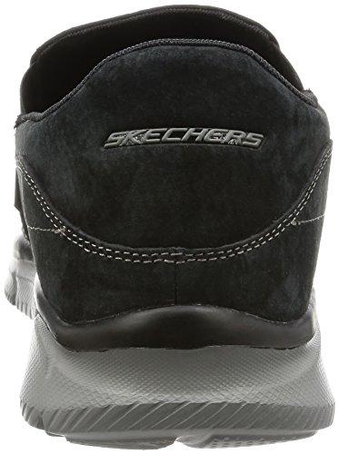 Skechers EqualizerMind Game Herren Sneakers, Schwarz (Black), 45 EU - 2