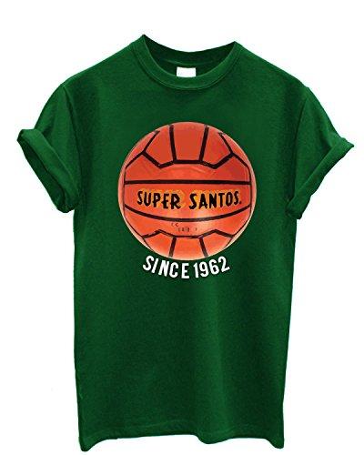 t-shirt-uomo-super-santos-maglietta-100-cotone-lamaglierial-verde
