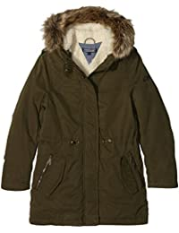 Tommy Hilfiger Girls Parka, Manteau Fille