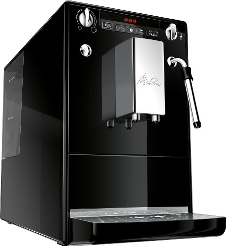 Melitta SOLO & Milk E953-101, Bean to Cup Coffee Machine, with Milk Steamer, Black