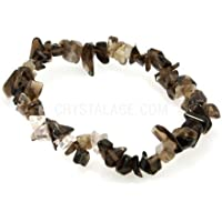 Smoky Quartz Gemstone Chip Bracelet by CrystalAge preisvergleich bei billige-tabletten.eu