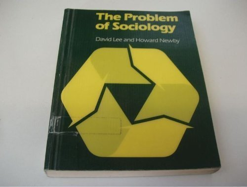 The Problem of Sociology (Hutchinson university library)