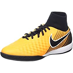 Nike Magistax Onda II Dynamic Fit (IC), Scarpe da Calcio Uomo, Arancione (Laser Orange/Black-White-Volt-White), 44.5 EU