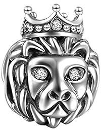 Soufeel Lion Queen Charm 925 Sterlingsilber