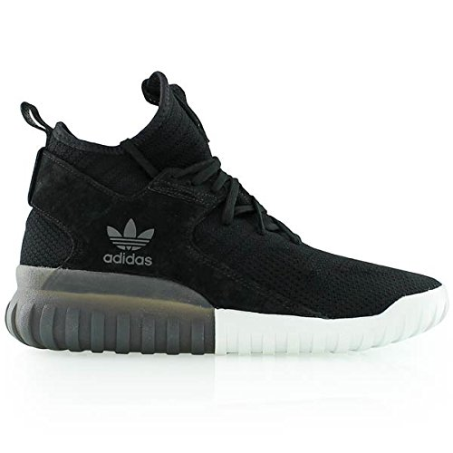 adidas Tubular X Primeknit Black Grey White 42