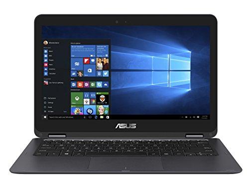 Asus Zenbook Flip UX360CA-C4227T 33,7 cm (13,3 Zoll Full HD Touch) Notebook (Intel Core i5-7Y54, 8GB RAM Arbeitsspeicher, 256GB SSD Festplatte, Intel HD Grafik, Win 10) grau