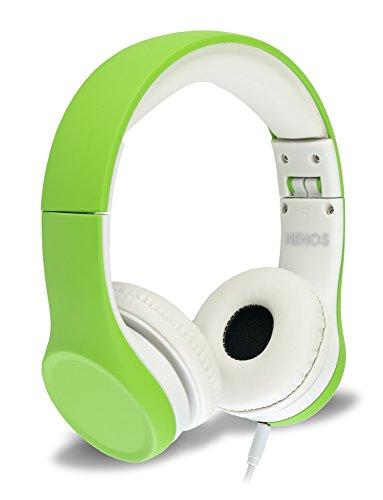 Cuffia Bambini con Limitazione del Volume e Condivisione Musica (Green)