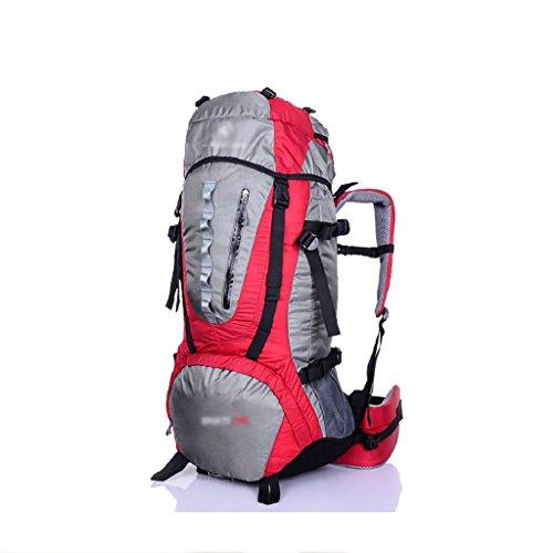 Outdoor A Sac à Dos randonnée Les Hommes et Les Femmes extérieures Camping 70L Sacs d'alpinisme imperméables Sac à Dos de Voyage de Grande capacité (Taille: 36 * 22 * 70cm) Sacs à Dos de randonnée