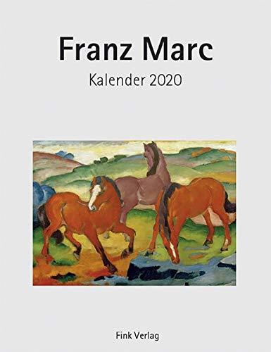 Franz Marc 2020: Kunst-Einsteckkalender