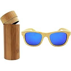 2016 Nuevos Gafas De Sol Para Hombres Y Mujeres Hechas A mano De Bambú Gafas De Madera Polarizadas (1)
