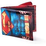 Superman - Logo Geld-Börse Portemonnaie Purse Geldbeutel Original & Lizensiert