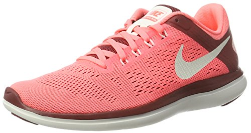 Nike Wmns Flex 2016 Rn, chaussures de course femme Orange (Lava Glow/sail/cedar/summit White)