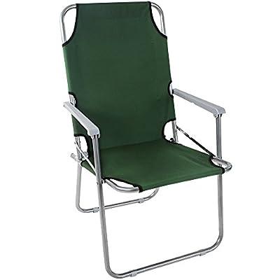Miadomodo Anglersessel Campingstuhl Klappstuhl in verschiedenen Farben belastbar bis 100 kg einzeln oder im 2er-Set