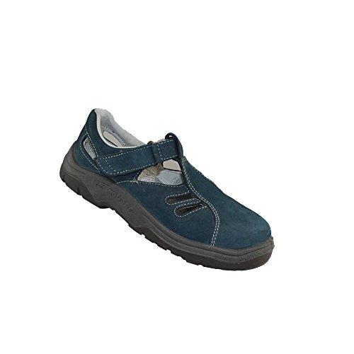Lupos Typ 511 S1 Berufsschuhe Arbeitsschuhe Sandale Blau Blau