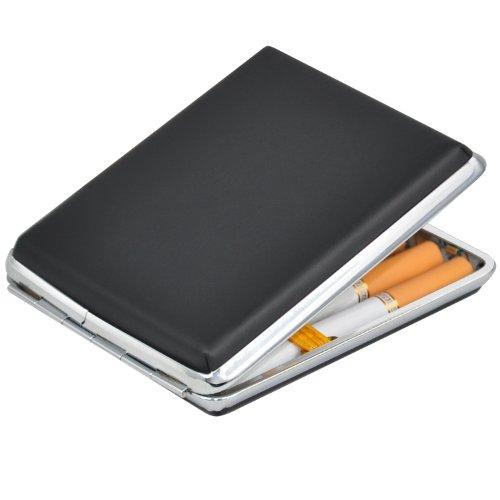 trixes-contenitore-di-latta-per-fumatori-portasigarette-nero-in-ecopelle-e-cromo