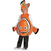 Disfraz Disney Buscando a Nemo Deluxe Costume Ni-o Un solo tama-o