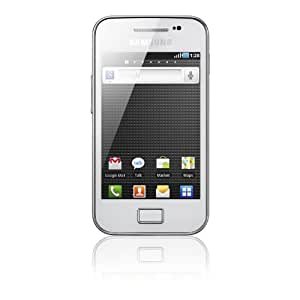 Samsung Galaxy Ace S5830 Smartphone (8,9 cm (3,5 Zoll) Display, Touchscreen, Android OS, 5 Megapixel Kamera) pure-white