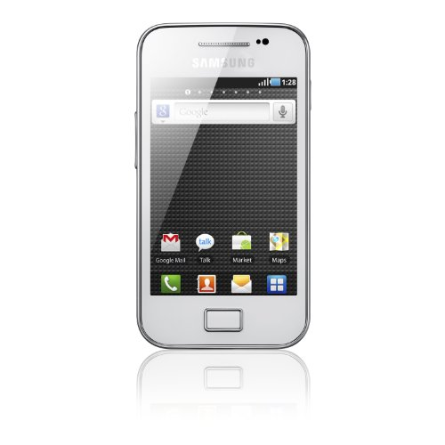 Samsung Galaxy Ace S5830 Smartphone, display Touchscreen 8,9 cm (3,5 pollici), Android 2.2, fotocamera 5 Megapixel, colore: Nero
