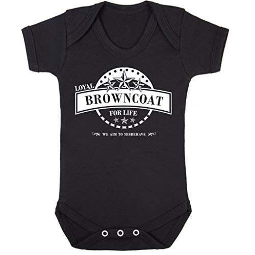 Cloud City 7 Serenity Loyal Browncoat for Life Baby Grow Short Sleeve