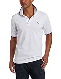 FRED PERRY - Sweater - Polo blanc Fred Perry - Blanc