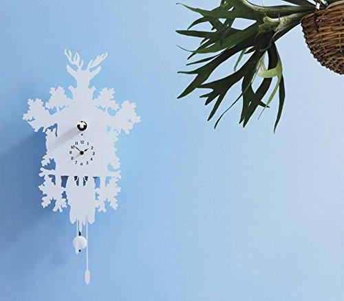 Cucù Clock - Weiß von Diamantini & Domeniconi