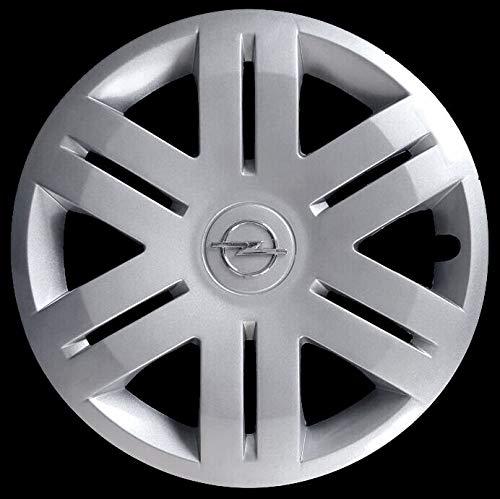 Generico Opel VIVARO COPRICERCHIO BORCHIA Quattro (4) cod. 5912/6 Diametro 16' Logo Cromato