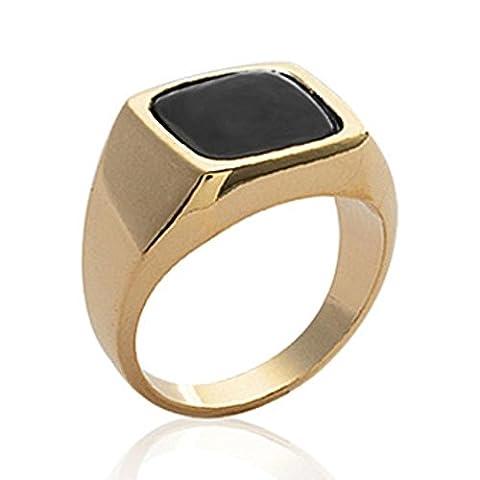 ISADY - Emilio Gold - Herren Ring Damen Ring -