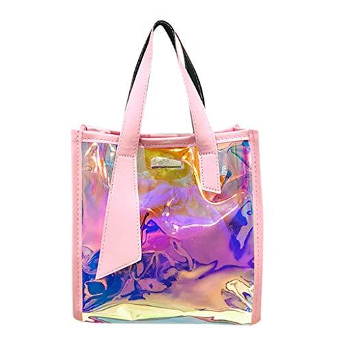 (Moonuy Frauen Tasche Damen Tasche Mode String multifunktionsfarbe solide Taste Handtasche umhängetasche umhängetasche)