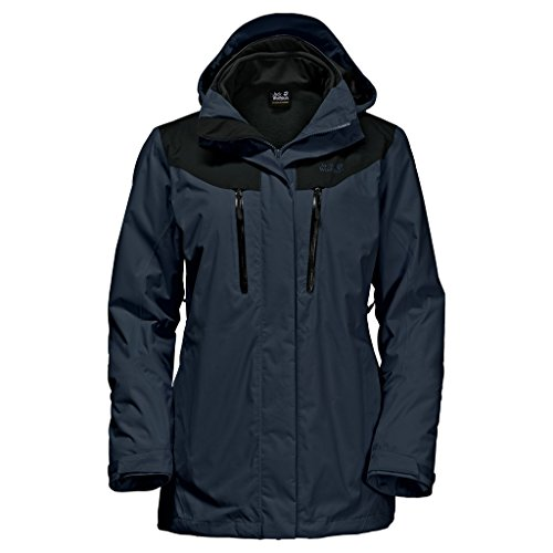 Jack Wolfskin 3 en 1 Veste Jasper 3In1 Femme Night Blue