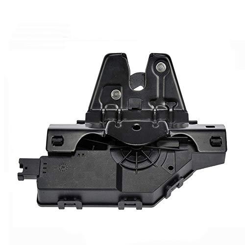 HAZYLA FS Trunk Verriegelung des Türverriegelungsaktuator Rear Cover Boot Mechanism Compatible Wiht E46 E60 E63 E64 E82 E88 E90 E92 Z4 51247840617 51 24 7 840 617,Schwarz
