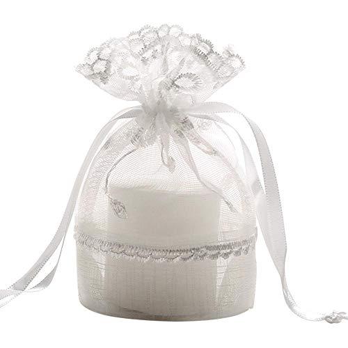 Eternitry Mesh Chiffon Geschenk Tasche, Shop Hochzeit Süßigkeiten Schmuck Tasche, Kordelzug, Um Artikel Zu Sammeln